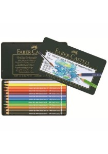 Faber-Castell Watercolour Pencil Albrecht D??rer Tin 117512 (12 Colors)
