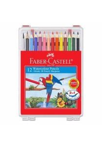 Faber-Castell 114562 Water Colour Pencil Wonder Box (12 Colors)