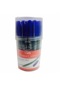 Faber-Castell Ball Pen 1423 1.0mm Blue-142329 (Drum of 30pcs)