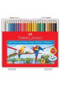Faber-Castell 114564 Water Colour Pencil Wonder Box (24 Colors)