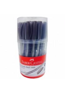 Faber-Castell Needle Ball 1444 Ball Pen 0.5mm-144496 (Drum of 30pcs)