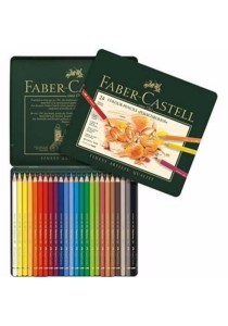 Faber-Castell 24 Colour Pencils Polychromos (110024)