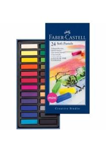 Faber-Castell 24 Soft Pastels Mini (128224)