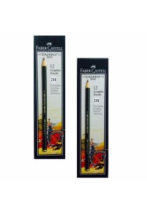 Faber-Castell 9000 Graphite Pencils 2H - (Set of 2)