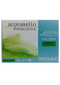 Fabriano Acquarello Watercolour Artistico Grana Grossa Rough 20Sheet (23x30.5cm) 300g/m-30022330
