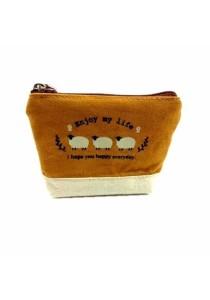 Fancy Wallet 890-TR13-509 Enjoy My Life Sheep