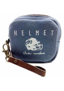 Fancy Wallet MH13-879 990 (Helmet Blue)