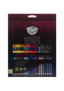 MasterArt Master Series Bi-Coloured Pencils 2in1 (3.3mm) 24/48 Colours-228699
