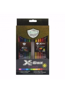 MasterArt Master Series Coloured Pencils (3.3mm) X-Box 12 Colours-207298