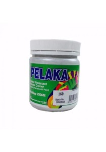 Pelaka Mural Color 250gm - Metallic Siver (160)