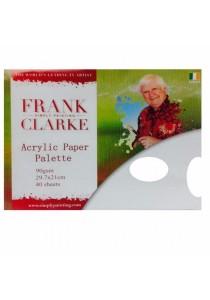 Frank Clarke Acrylic Paper Palette 90gsm (29.7x21cm) 40 Sheets