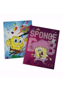 Campap A4 Ring File (S) Sponge Bob Purple + Blue (Set Of 2) - SB26956A