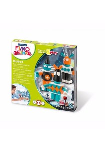 Staedtler 803403 FIMO Kids Form & Play 42g 4s - Robot