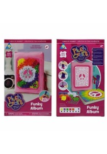 Toy Town Flush Craft Funky Album 65355 200s (Pink)