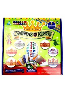 Toy Town Sticky Mosaics Crowns Kings (81560)