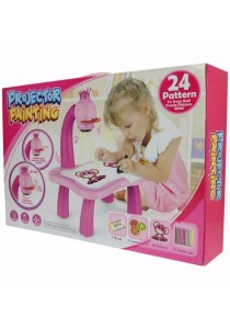 Children Projector Painting Set Pink - YM6776