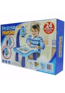 Children Projector Painting Set Blue - YM6886