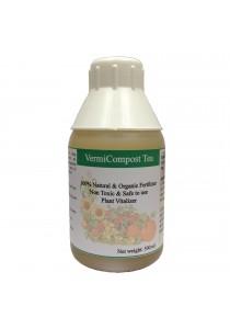 VermiCompost Tea Organic Liquid Fertilizer (Worm Compost Tea) 500ml (Yellow)