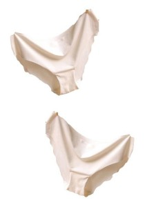 FASHION TEE Seamless Panties Set of 2 (White)