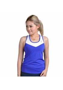 VIQ Active Tank (Royal Blue) - Women Sports Top - Ladies Singlet