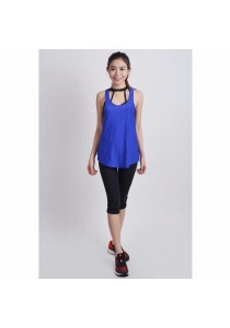 VIQ Loose Singlet (Royal Blue)