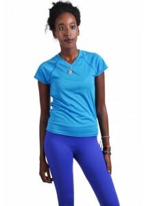 VIQ Ladies Workout Tee (Blue)