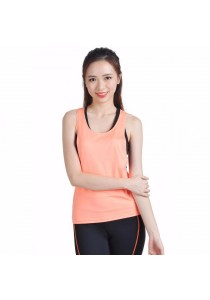 VIQ Backless Loose Tank (Orange)