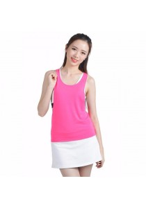 VIQ Backless Loose Tank (Pink)