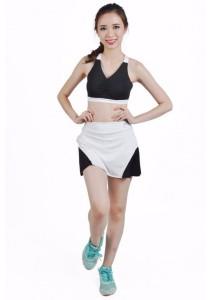 VIQ Player Skirt (White)