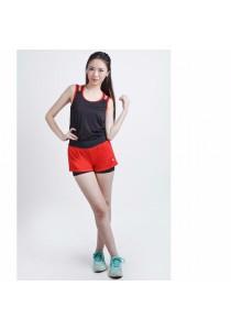 VIQ Layered Shorts (Red)