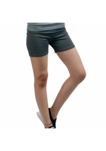 VIQ Ladies Tight Shorts (Grey)
