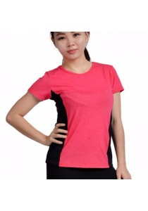 VIQ Workout Sports Tee (Red)- S