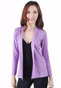 VIQ Casual Cardigan (Purple)
