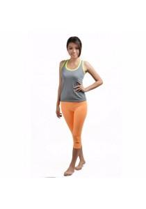 VIQ Fitness Pants (Light Orange)