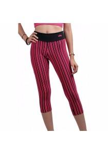 VIQ Fitting Sports Pants (Pink Stripe)