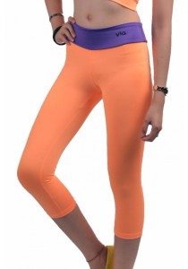 VIQ Ladies Fitting Sports Pants (Orange)