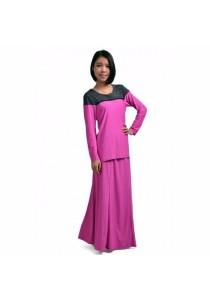VIQ Muslim Top+Skirt (Pink)