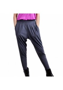 VIQ Harem Long Pants (Grey) Casual Wear