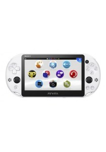 Sony Computer Entertainment Glacier White PS Vita New Slim Model - PCH-2006 (Sony Malaysia Official Product)