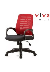 Cosmo Mesh Office Chair (Red)