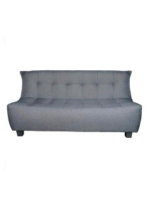 Palazzo 3 Seater Sofa Without Pillow (Purple)