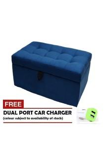 VIVA HOUZ - WOW Storage Ottoman / Bench (Set of 1) *Free Dual Port Car Charger
