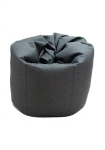 XL Bean Bag with 1 Pillow (Grey)