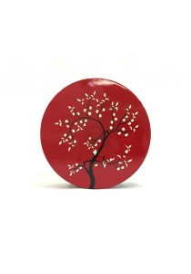 [Best Buy] Oriental Tree Lacquered Candy Tray with Lime Tree (Red)