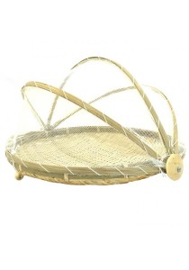 [BEST BUY] Weave & Woven Round Bamboo Food Tent