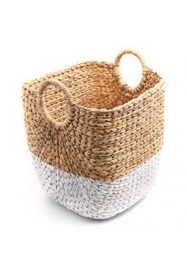 Weave & Woven Rectangular Laundry/Storage Basket (Natural)
