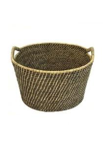 Weave & Woven Kayak Basket (Brown Wash)