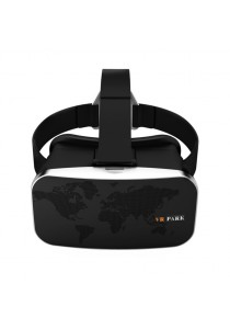VR Park V2 3D Virtual Reality Glasses for Game and Movie With Bluetooth Remote Controller (Black)