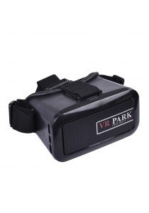 VR Park V1 3D Virtual Reality Glasses for Game and Movie (Black)
