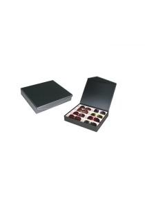 8 Slots PU Leather Sunglasses / Spectacular Storage Box (Carbon Fiber Black)